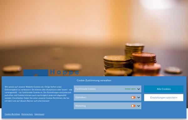 Vorschau von www.hofima.de, Hoppe Finanzmanagement GmbH