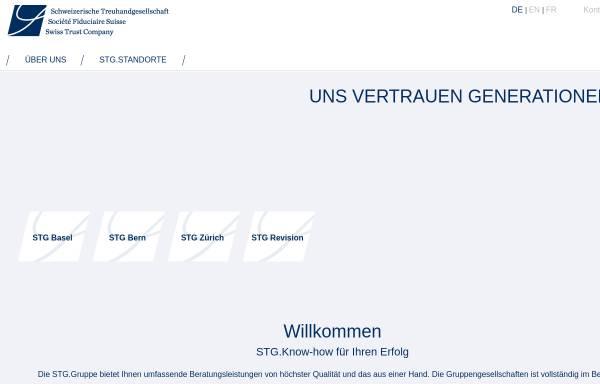 Vorschau von www.stg.ch, LGT Schweizerische Treuhandgesellschaft