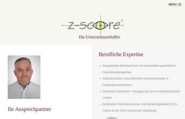 Vorschau von www.z-score.de, Z-Score Deutschland GmbH