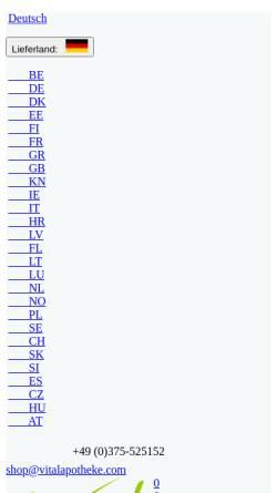 Vorschau der mobilen Webseite www.kosmetik-shop.info, Vital-Apotheke Zwickau