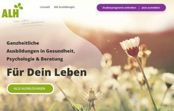 Vorschau von www.alh-akademie.de, ALH-Akademie