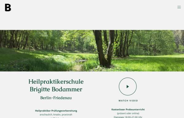Vorschau von www.brigitte-bodammer.de, Heilpraktikerschule Brigitte Bodammer