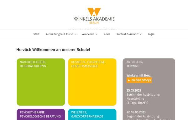 Vorschau von www.winkels-akademie.de, Winkels-Akademie