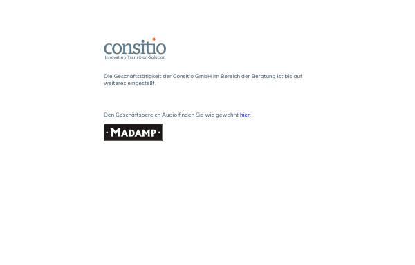 Vorschau von www.consitio.de, Consitio GmbH