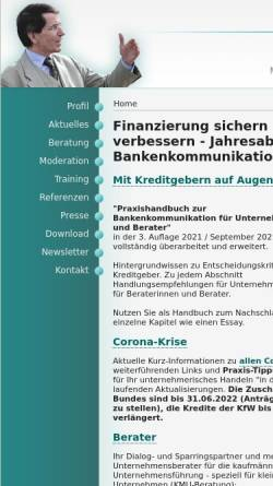 Vorschau der mobilen Webseite www.cd-sander.de, Carl-Dietrich Sander · UnternehmerBerater
