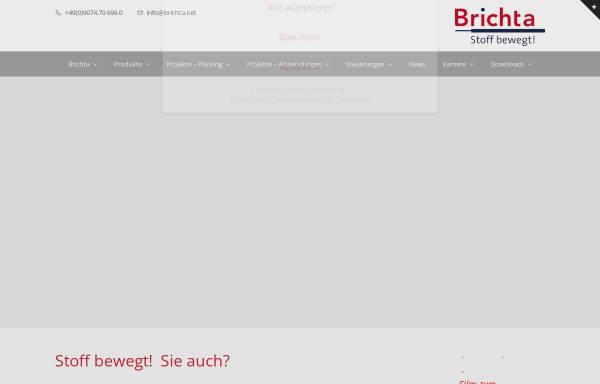 Vorschau von www.brichta.net, Brichta GmbH