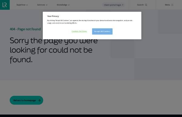 Lloyds Register Quality Assurance GmbH in Köln und D-20095 Hamburg ...