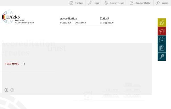 Vorschau von www.tga-gmbh.de, Trägergemeinschaft für Akkreditierung GmbH (TGA)