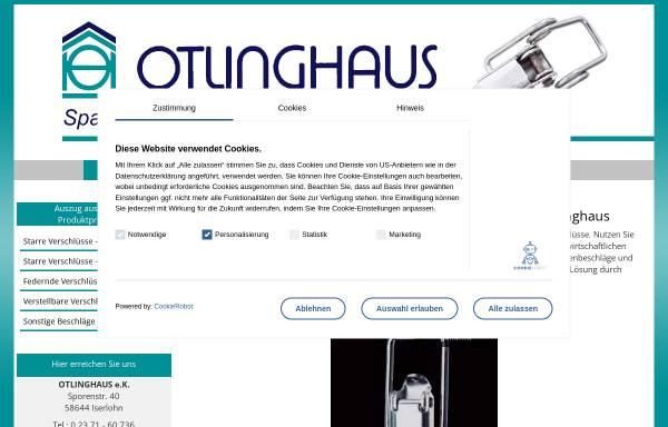 Vorschau von www.otlinghaus-iserlohn.de, Otlinghaus e.K.