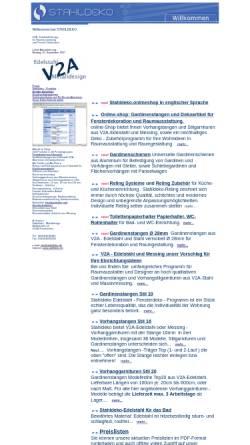 Vorschau der mobilen Webseite www.stahldeko.de, A.Veselov Stahldeko - Metalldesign