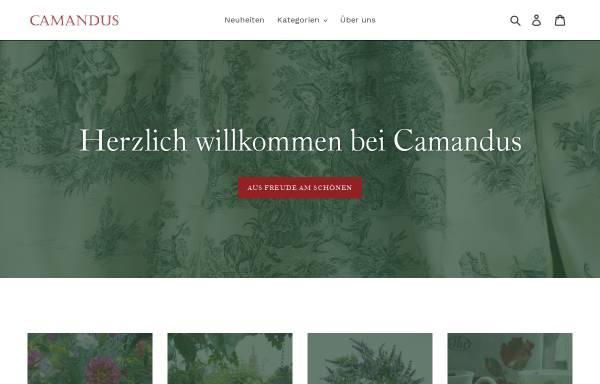 Vorschau von www.camandus.de, Camandus - B & W Versandhandel GmbH & Co. KG
