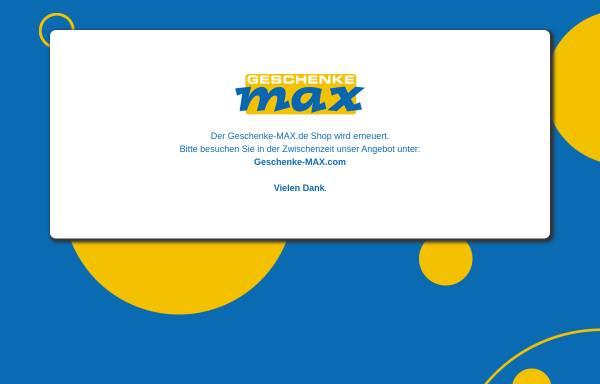 Vorschau von www.geschenke-max.de, Geschenke MAX , Inh. Markus Neu