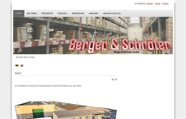 Vorschau von www.berger-schroeter.de, Berger & Schröter GmbH