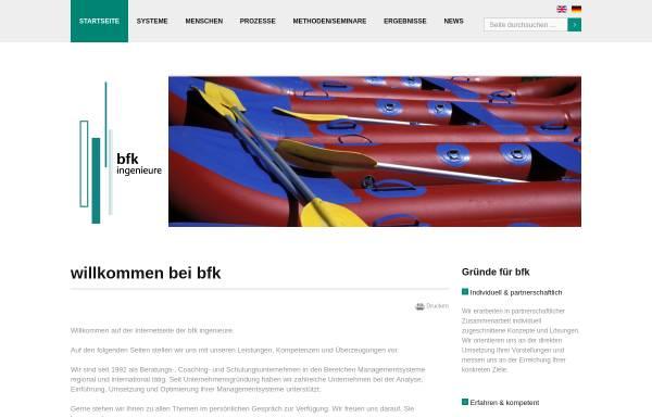 Vorschau von www.bfk-ingenieure.de, BFK Ingenieure GdbR