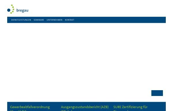 Vorschau von www.bregau.de, Bregau zert GmbH