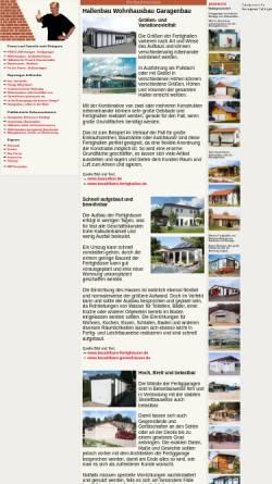 Vorschau der mobilen Webseite www.baufirmenliste.de, baufirmenliste.de