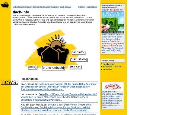 Vorschau von dach-info.de, Dach-info