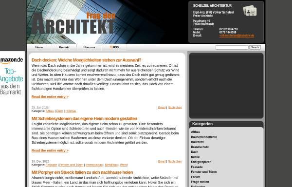 Vorschau von fragdenarchitekt.de, Frag den Architekt