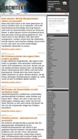 Vorschau der mobilen Webseite fragdenarchitekt.de, Frag den Architekt