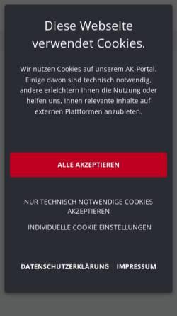 Vorschau der mobilen Webseite www.meingrundstueck.at, Meingrundstück