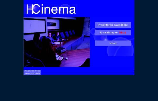 Vorschau von www.hcinema.de, HCinema