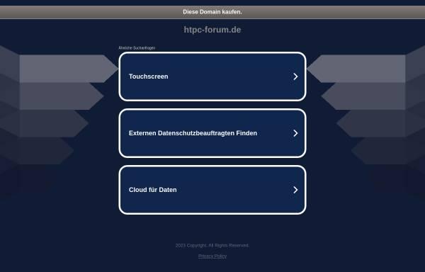 Vorschau von www.htpc-forum.de, HTPC-Forum