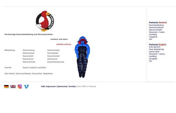 Vorschau von www.parkasite.de, Parkasite - Bianka Wotke