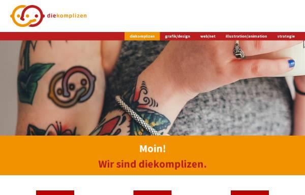 Vorschau von www.diekomplizen.org, Thomas Nolte Kreation - diekomplizen