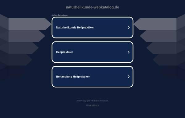Vorschau von www.naturheilkunde-webkatalog.de, Naturheilkunde-Webkatalog