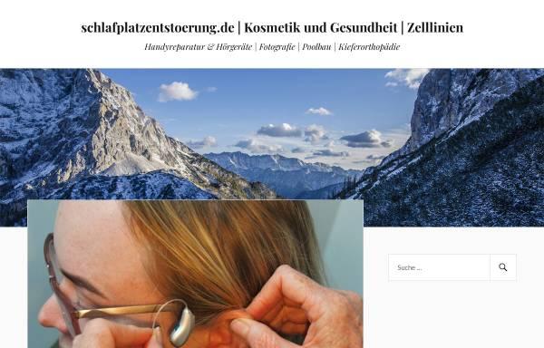 Vorschau von www.schlafplatzentstoerung.de, Schlafplatzentstörung