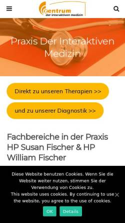 Vorschau der mobilen Webseite www.venta-sim.de, Venta