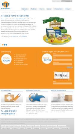 Vorschau der mobilen Webseite www.eitel-plastic.de, Eitel plastic GmbH