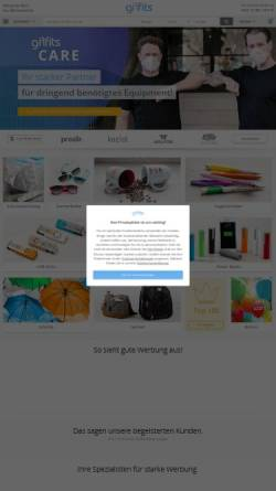 Vorschau der mobilen Webseite www.giffits.de, Giffits GmbH