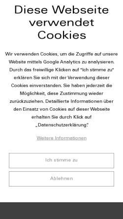 Vorschau der mobilen Webseite www.werbeartikel-jansen.de, Jansen Verkaufsförderung GmbH & Co. KG