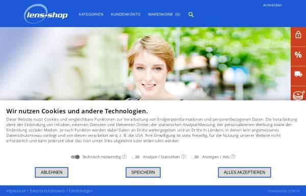 Vorschau von www.lens-shop.de, Lens-Shop GmbH