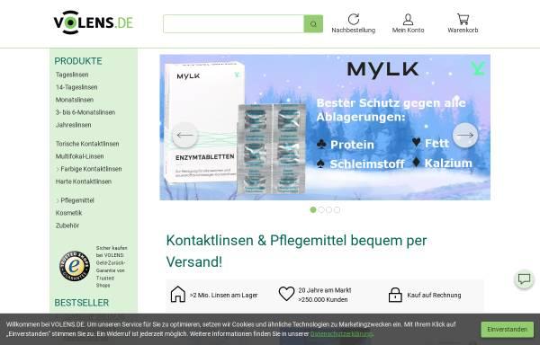 Vorschau von www.volens.de, Volens GmbH & Co. KG