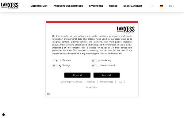 Vorschau von www.lewatit.de, Lanxess Deutschland GmbH