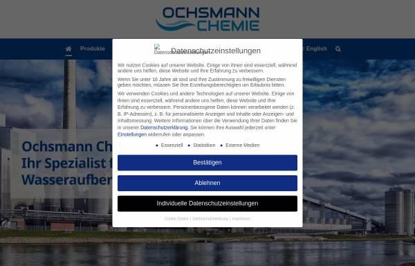 Vorschau von www.ochsmann-chemie.de, Ochsmann Chemie