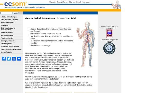 Vorschau von www.eesom.com, Eesom