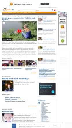 Vorschau der mobilen Webseite www.wissen-gesundheit.de, Wissen-gesundheit.de