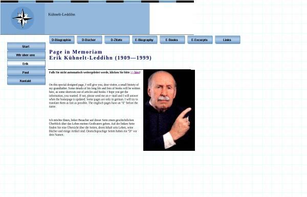 Vorschau von www.kuehnelt-leddihn.at, von Kuehnelt-Leddihn, Erik Maria Ritter