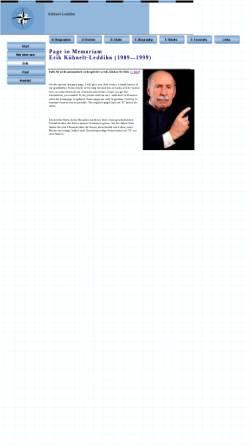 Vorschau der mobilen Webseite www.kuehnelt-leddihn.at, von Kuehnelt-Leddihn, Erik Maria Ritter