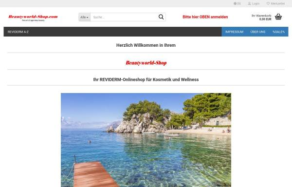 Vorschau von www.beautyworld-shop.com, Beautyworld-Shop, Zofia Behnert