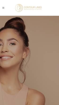 Vorschau der mobilen Webseite www.contourlines.de, Contour Lines, Carmen Weissgerber