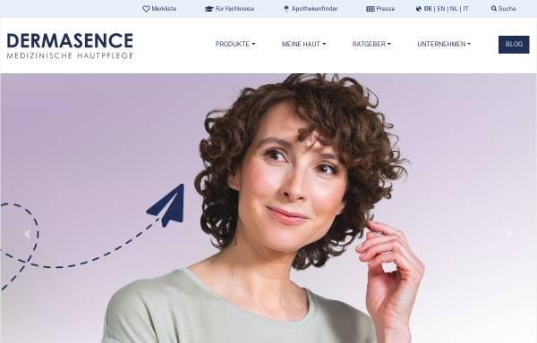 Vorschau von www.dermasence.de, P&M Cosmetics GmbH & Co. KG
