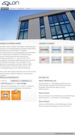 Vorschau der mobilen Webseite www.ablon.de, Ablon GmbH