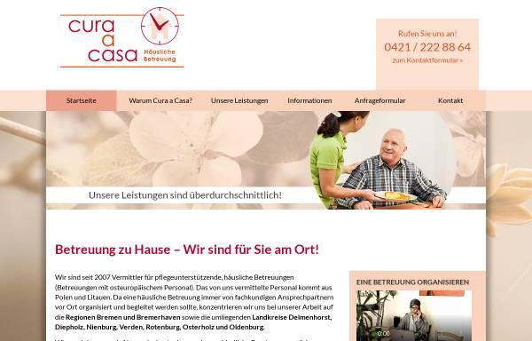 Vorschau von 24-stunden-betreut.de, Cura a Casa - 24-Stunden-Betreuung zu Hause