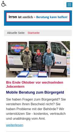 Vorschau der mobilen Webseite www.beratung-kann-helfen.de, Beratung kann helfen
