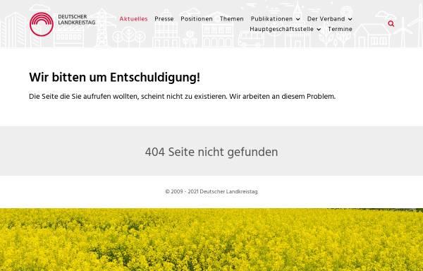 Vorschau von www.kreise.de, Optionskommunen