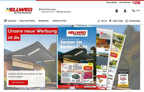 Vorschau von www.hellweg.de, Hellweg - Die Profi-Baumärkte GmbH & Co. KG